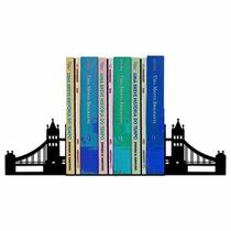 Aparador De Livros Ponte Londres - Geguton - Preto