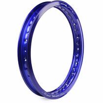 Aro De Moto Alumínio Motard 18 X 1.85 Viper Azul