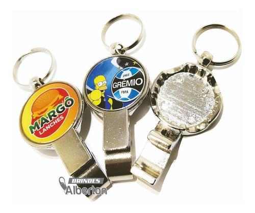 0a29515449 50 Chaveiro Personalizados Abridor Garrafa Long Neck Brinde