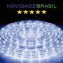 Mangueira Luminosa Led Branca Fria 220v / Sancas / Natal