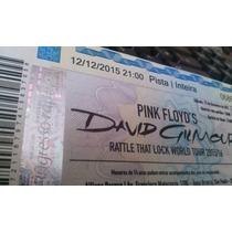 Ingressos Pista Inteira Show David Gilmour São Paulo 12/12