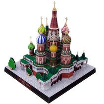 Papel Modelismo - Arquitetura - Catedral São Basílio Russia