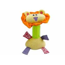 Brinquedo Cães Mordedor Pelúcia Pet Shop Leão Grande 20cm