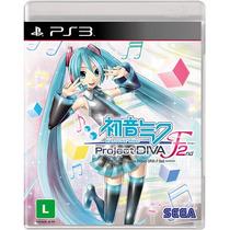 Hatsune Miku Project Diva F 2nd - [ps3] Lacrado