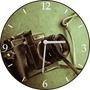 Relógio De Parede Em Vinil, Maquina Fotográfica, Fotografo