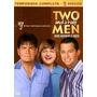 Two And A Half Men 7ª Temporada - Box Com 3 Dvds