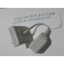 Conector Filtro Para Tefefonia Micro Filtro Adsl 2 Saidas