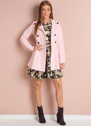 a5d063b8e05db Sobretudo Feminino Casaco Jaqueta Inverno Frio Plus Size