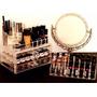 Porta Maquiagem Acrílico Organizador / Batom / Espelho = 3