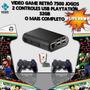 Raspberry Pi3 Game Retrô 7500 Jogos   2 Controles   32gb