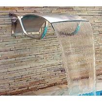 Cascata Em Aço Inox P/ Piscina Mod Niagara - Libra Inox