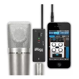 Interface Microfone Irig Pre Ik Multimedia - Garantia 1 Ano