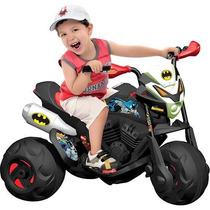 Moto Elétrica Infantil Batmoto Trail El 6v - Bandeirante