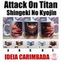 Caneca Attack On Titan - Eren Rivaille Shingeki No Kyojin