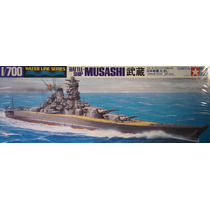 Super Couraçado Japonês Musashi Da Tamiya Escala 1/700