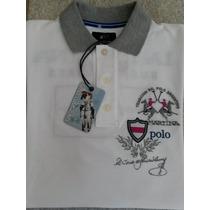 Camisa Polo La Martina Branca