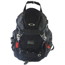 Mochila Elite Oakley Double Metal Back Pack Bolsa Escola