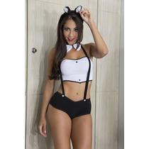 Fantasia Sensual Coelhinha De Shorts Sexy ( Completa)