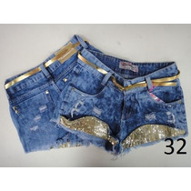 Short Jeans Customizados Estilo Anitta-frete Grátis !!!