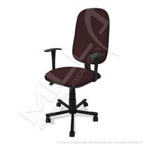 Cadeira Presidente Giratória C/ Lamina, Braço Fixo E Relax