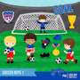 Kit Scrapbook Digital Futebol Imagens Clipart Cod 2