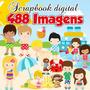 Scrapbook Digital Praia - 488 Imagens Do Tema