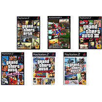 Frete Grátis 6 Patches Gta San Andreas, Vice City Stories