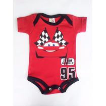 Body Bebê Carros Mcqueen Cars
