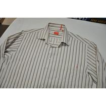 Camisa Social Masculina Hugo Boss 100% Original (g) - Linda!