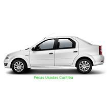 Renault Logan Sucata Motor/grade/caixa/lataria/radio/roda