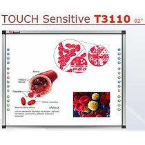 Lousa Interativa Digital Iqboard 82 Touch Screen Dual Touch