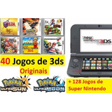 New Nintendo 3ds Xl + 150 Jogos + Pokemon + Mario + Zelda