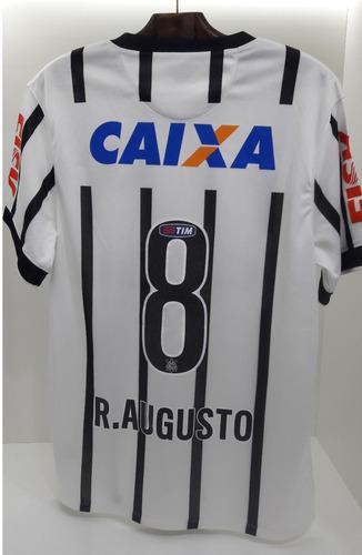658d5f530b31b Camisa Corinthians I 2014 Nº 8 Renato Augusto. R$ 499