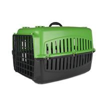 Caixa De Transporte Para Cães E Gatos Baw Waw - Verde