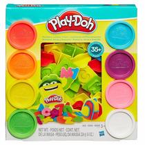 Massa De Modelar Play-doh Letras E Números 21018 - Hasbro