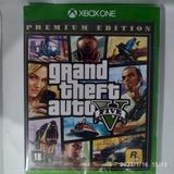 Xbox One Grand Theft Auto V 5 Gta V 5  Premium Mídia Física Lacrado Legendas Em Português