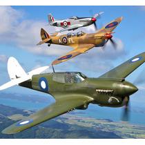 Avião De Guerra -miniatura -classic Fighter De 1940 Sucesso!