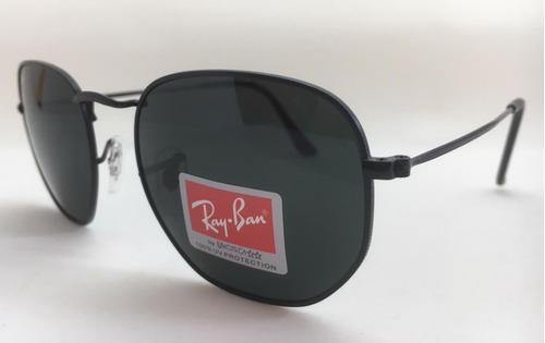 Oculos De Sol Ray Ban Original Rb3548 Hexagonal Frete Gratis 093d787840f68