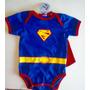 Body Bebê Personagens Super Homem - Superman