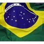 Bandeira Do Brasil Ofical Grande 5 Metros Mastro Camisa