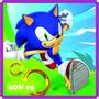 Adesivo Decorativo Quartos Sonic Boom Video Game Jogos 5 M