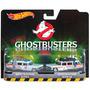 Hot Wheels Ghostbusters Caça Fantasmas Ecto-1 Ecto-1a 2-pack