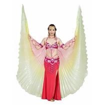 Véu Wings Dança Do Ventre Asas De Ísis(isis Wings) C/ Vareta