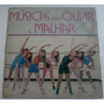 Lp Musicas Para Ouvir E Malhar 1988 Square