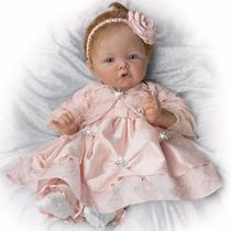 Boneca Bebê Reborn Real Silicone