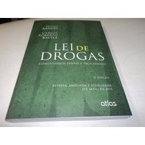 Lei De Drogas 3ª Ed. Paulo Rangel Carlos Roberto Bacila