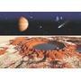 Papel De Parede Adesivo Planetas Sistema Solar Espaço Gg435
