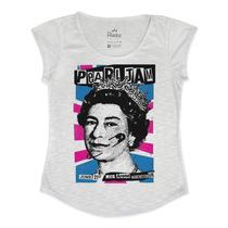 Tshirt Feminina Em Tecido Flamê - Pearl Jam Poster Rainha