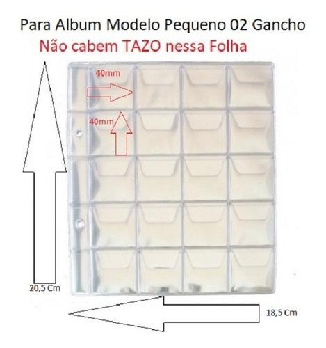 Kit 10 Folhas Pq. Plastico P/ Guardar Moedas 20 Bolsas