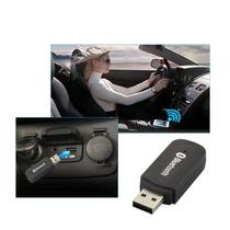 Receptor Som Via Bluetooth Usb P/ Carro E Equipamentos Som